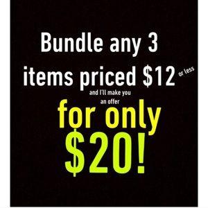 Forever 21 Tops - 3/$20! Navy & sequin crop top